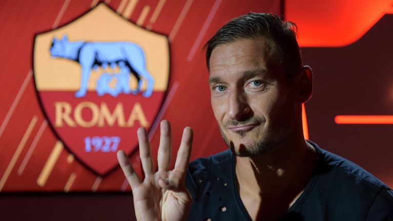 Francesco Totti's 10 greatest moments