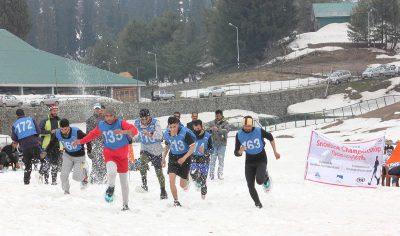 Snowshoe Sport Forays Into Kashmir