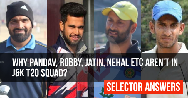Players allege 'favouritism' in J&K T20 squad; selector says 'team entirely selected on merit'
