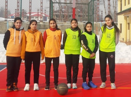 Women's Basketball league begins in Srinagar. Pic / KSW
