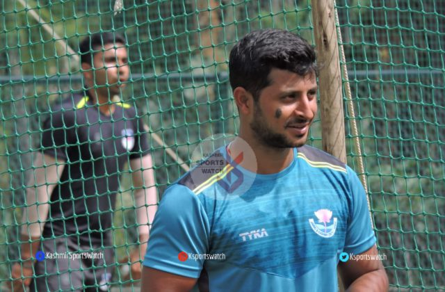Syed Mushtaq Ali Trophy: Shubham Khajuria to miss Punjab match .Pic/KSW