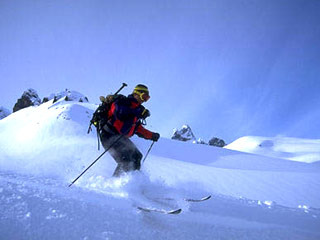 Ski Mountaineering trials for Khelo India on January 17