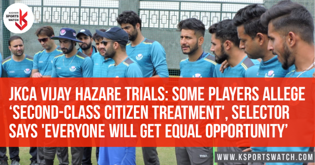 VHT Trials: Some players allege 'second-class citizen treatment', selector says 'everyone will get equal opportunity'