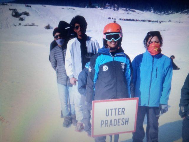Junior National ski championship inaugurated at Gulmarg. Pic/KSW
