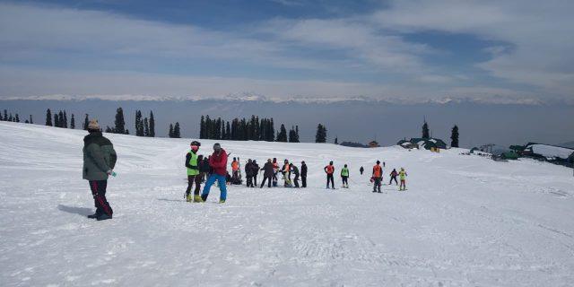 Junior National Ski Championship: J&K bags 10 medals on Day 1. Pic/KSW