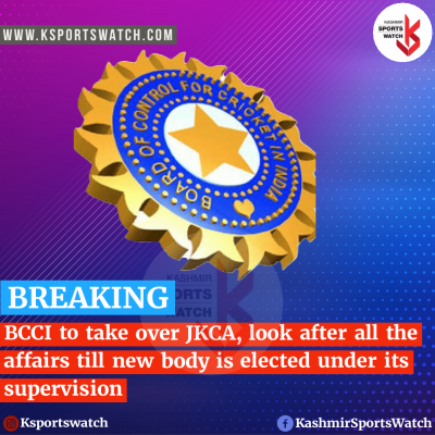 BCCI to take over JKCA