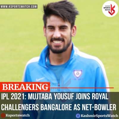 Exclusive: Mujtaba Yousuf joins Royal Challengers Bangalore as net-bowler for IPL 2021
