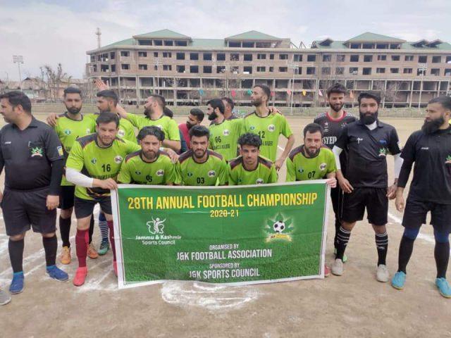 DFA Budgam beat DFA in annual football championship