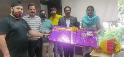 NIFF Jammu wing meet Secretary Sports Council