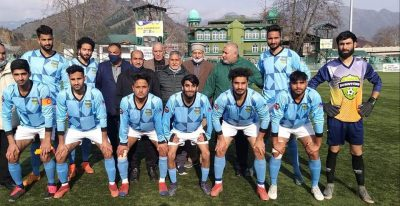 Downtown Heroes FC beat DFA Bandipora in annual football championship