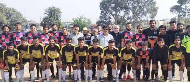 Shaheen FC thrash  Young Rover FC 5-0 in annual football championship
