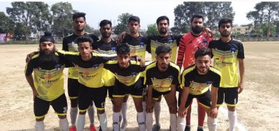 J&K Police-XI, Hero FC qualify into 2nd round of annual football championship