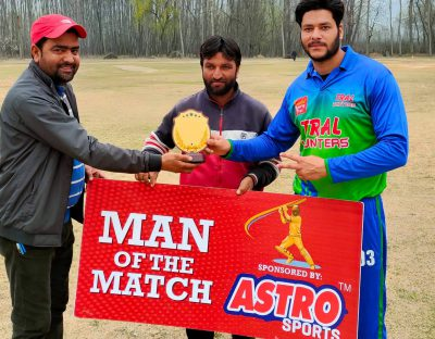 30-Over Cricket Tourney: Tral Hunters beat ZS