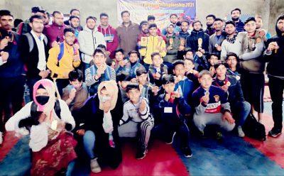 Budgam Wushu championship concludes