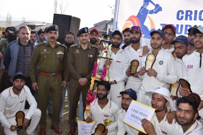 Kupwara-B wins Range level U-19 T20 cricket tournament