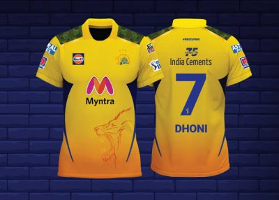 IPL: CSK unveils new jersey. Take a look
