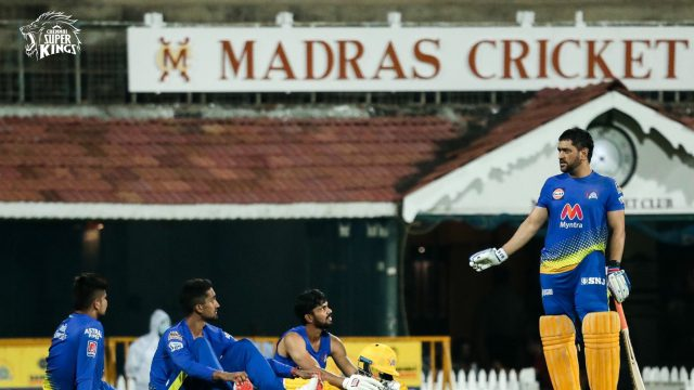 Dhoni needs to lead from front, bat higher : Gambhir. Pic/Twitter CSK
