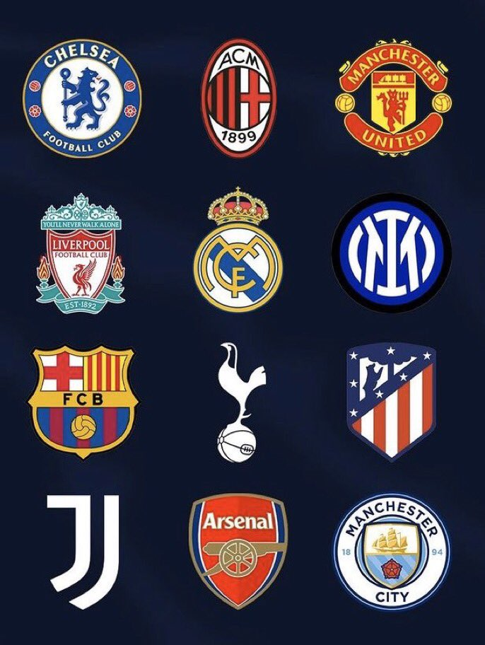 European football in crises as 12 big clubs form 'Rebel' Super league