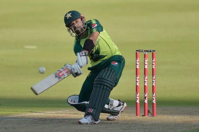 Mohammad Rizwan, Usman Qadir star in Pakistan's 11 run win over Zimbabwe. Pic/PCB