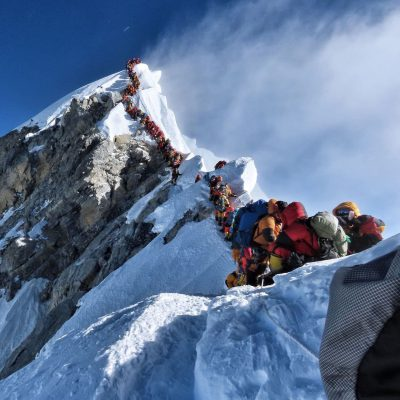 Norwegian climber 1st to test COVID positive on Mount Everest