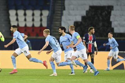 Champions League: Manchester City inch step closer to final after first leg comeback win against PSG