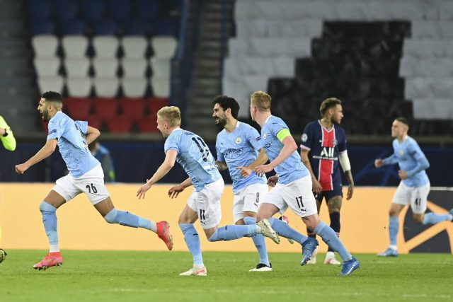 Champions League: Manchester City inch step closer to final after first leg comeback win against PSG. Pic/Manchester City Twitter