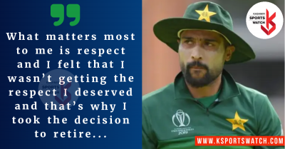 Mohammad Amir reveals why he retired so early