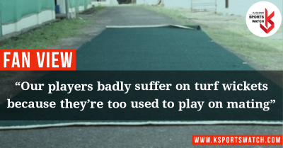 Mat-cricket is damaging Kashmiri cricketeters; Turf wickets – the only solution