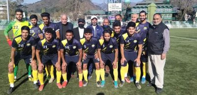 Real Kashmir FC cruises into final of annual football championship