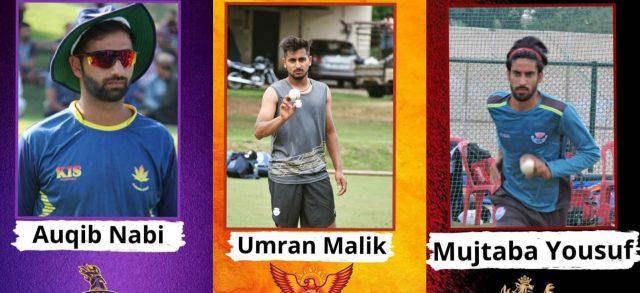 Auquib, Mujtaba, Umran part of IPL 2021 as net bowlers. Poc/KSW