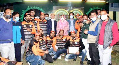 Elegant Striker's Cricket Club jersey unveiled