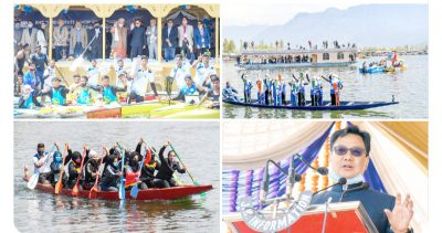 Kiren Rijiju inaugurates Khelo India State Centre of Excellence for Rowing discipline in Srinagar