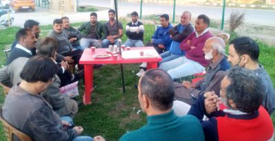 Bagow chairs District Cricket Association Anantnag meet