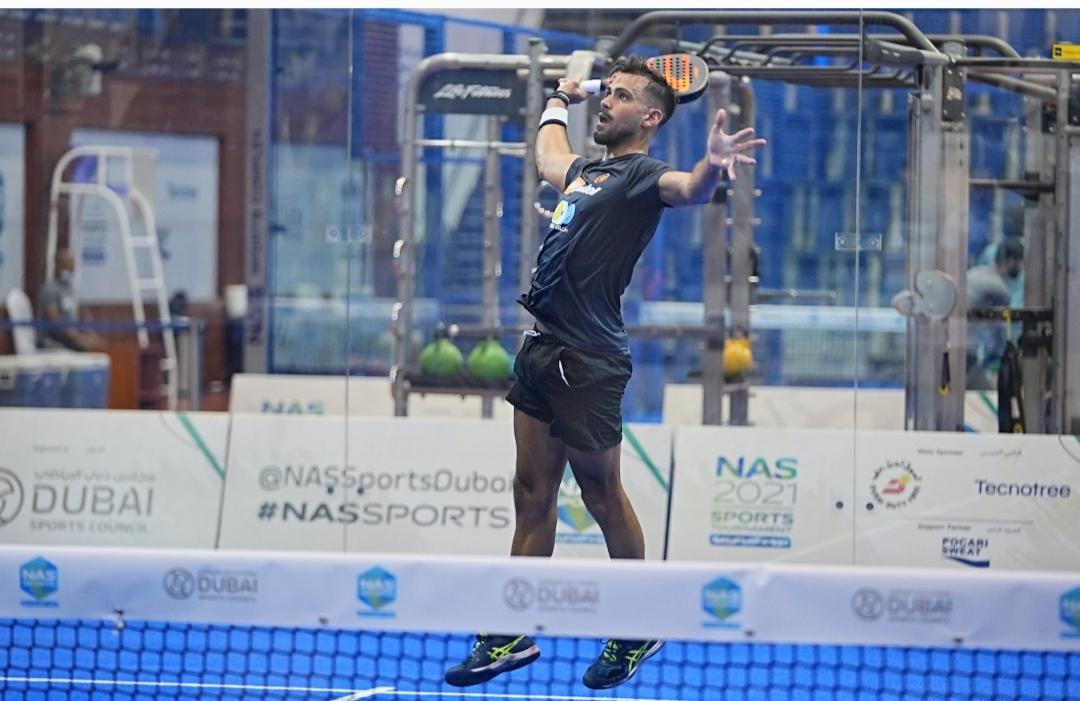 Ibrahim, Ahli move into quarterfinals of Dubai NAS Padel Championship along with Perpina and Barroso