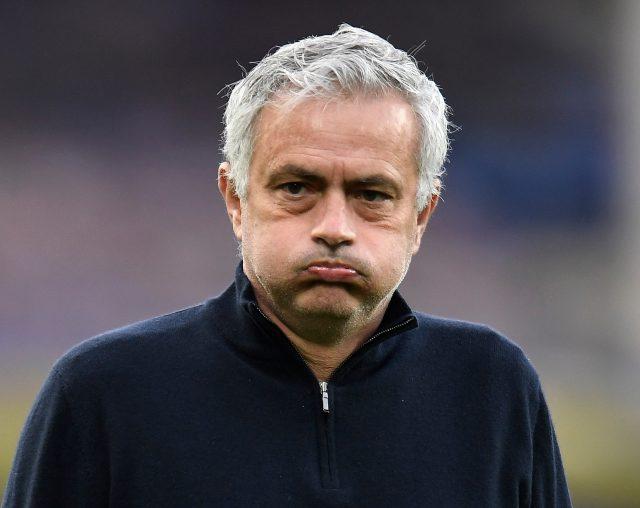 Tottenham Hotspur Sack Jose Mourinho. Pic/Twitter