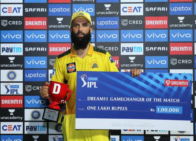 IPL 2021: Fleming all praise for instrumental Moeen Ali. Pic/BCCI IPLT20