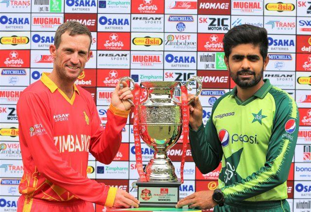 Babar Azam eye reaching fastest to 200 runs in T20I . Pic/PCB