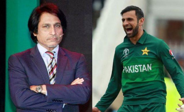 Ramiz Raja, Shoaib Malik lashes out at 'ordinary' Pakistan side. Pic/Twitter