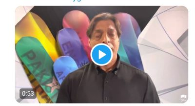 Watch: Shoaib Akhtar appealing Global community to help India in dealing with COVID19 crises