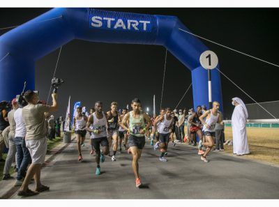 El Ghouz leads Moroccan cleansweep in men's Open category of 10km Dubai NAS Run