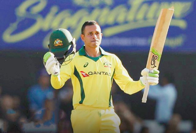 Usman Khawaja excited to finally play in a Country of his birth. Pic/Twitter @GreenTeam