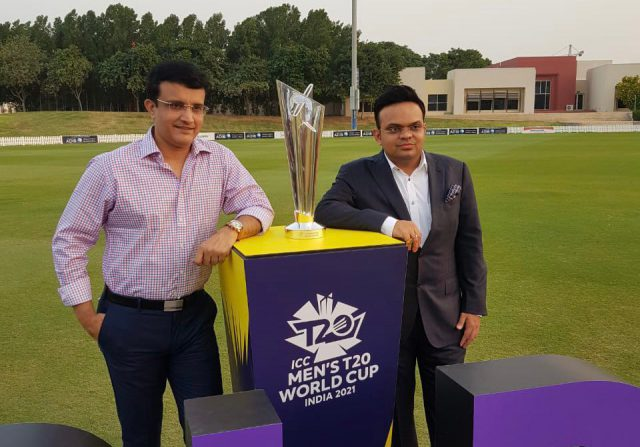 Amid India's COVID-19 scenario T20 World Cup likely to be shifted to UAE. Pic/Twitter