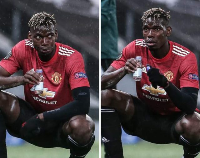Ramadan: Paul Pogba was fasting during his Europa League 'Masterclass' against AS Roma. Pic/Manchester United Facebook