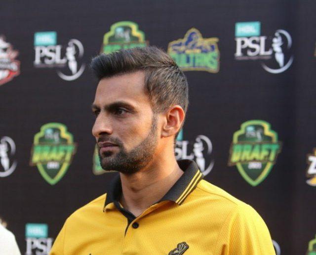 I am fit, have no plans to Retire: Shoaib Malik. Pic/Twitter Zalmi