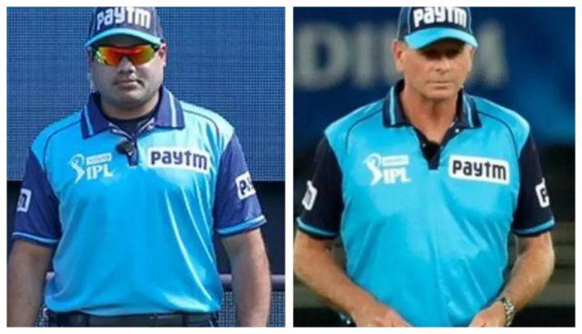IPL 2021: Now umpires Nitin Menon, Paul Reiffel pull out. Pic/Screen Grab