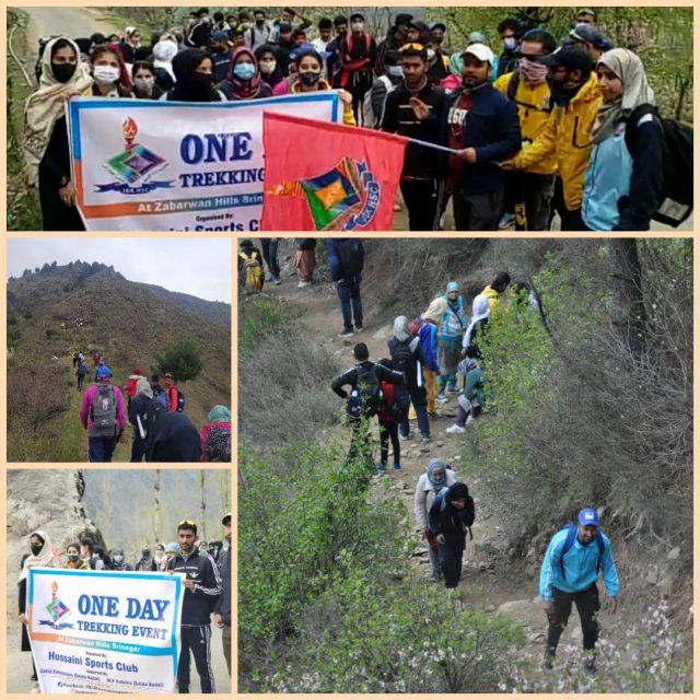Hussaini Sports Club organises trekking event
