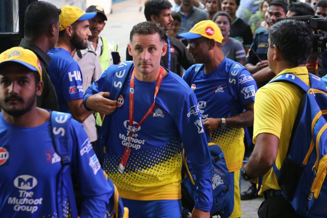IPL 2021: CSK batting coach Michael Hussey tests Postive for COVID-19. Pic/IPL BCCI