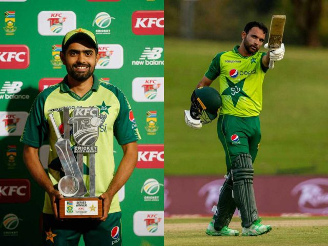 Babar Azam, Fakhar Zaman headline ICC player of the month nomination. Pic/Twitter
