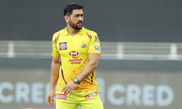 IPL 2021: ' MS Dhoni said he will be last one to leave'. Pic/Twitter