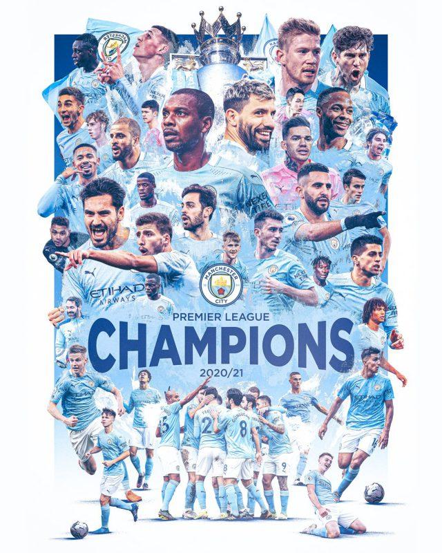 Manchester United defeat hands Manchester City Premier League title